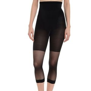 SPanx High Falutin' Mid-Calf Tights NWT